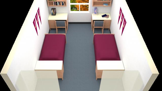 Double Room Floor Plan