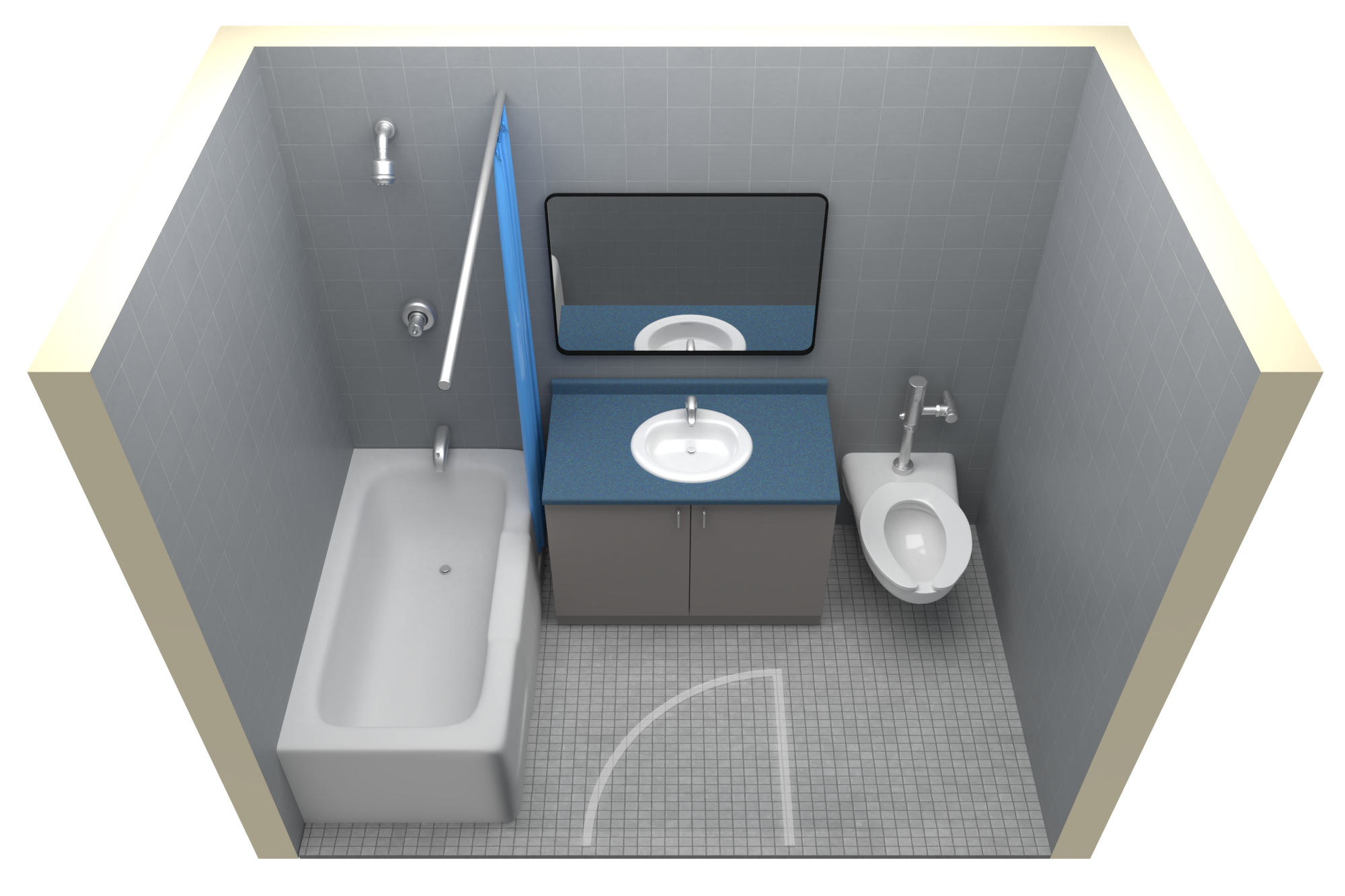 Lofted Triple Room With Access To Single-User Washroom