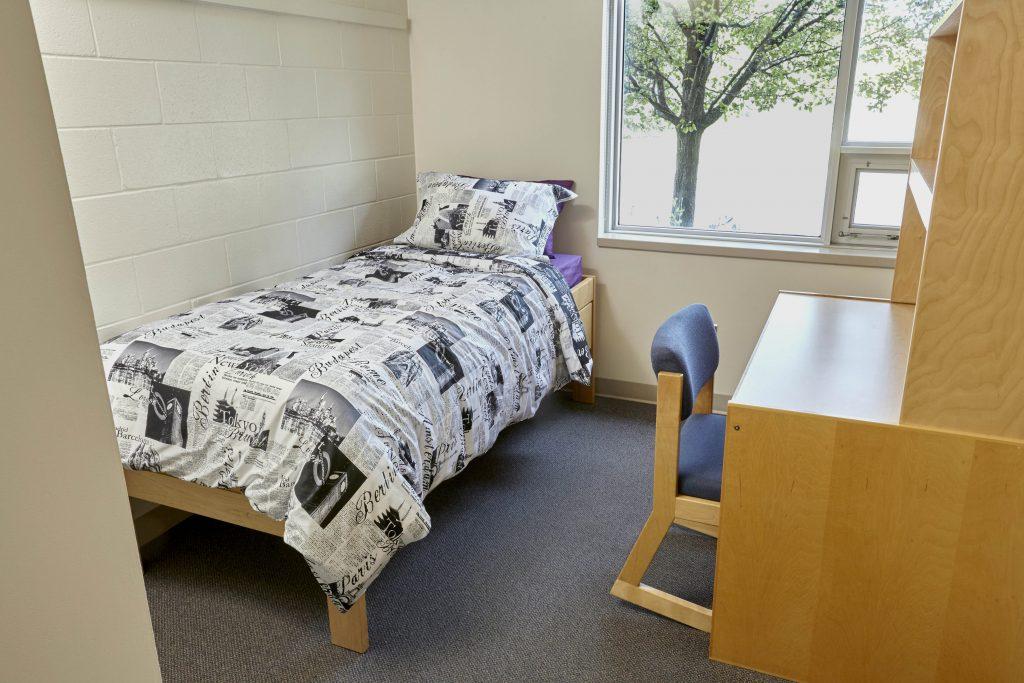 Suite Bedroom at McMaster University