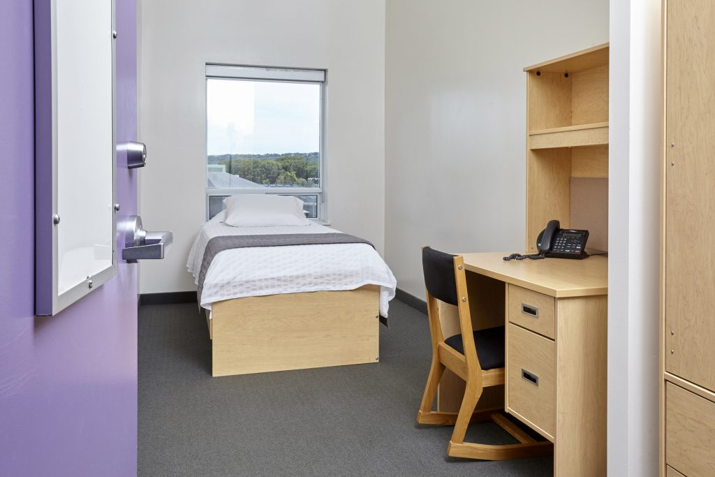 Single Room with Single User Washroom at McMaster University