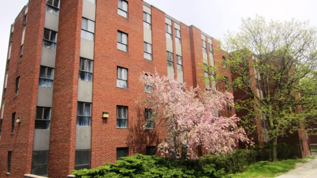 Bates Residence is located in the west quad at McMaster University