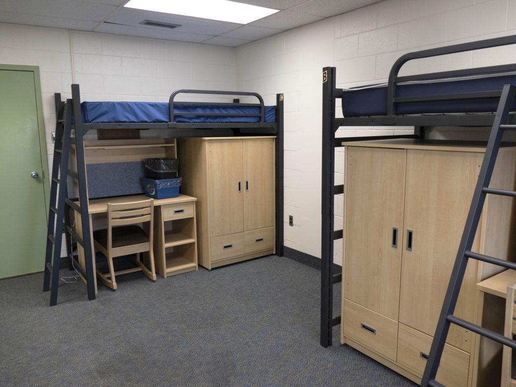 Lofted Triple Room at McMaster University