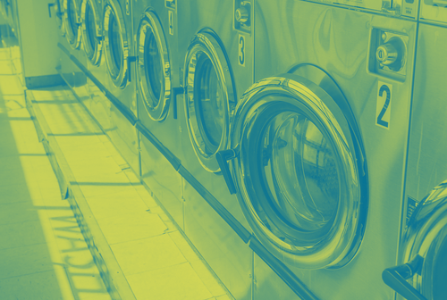 Laundry duotone