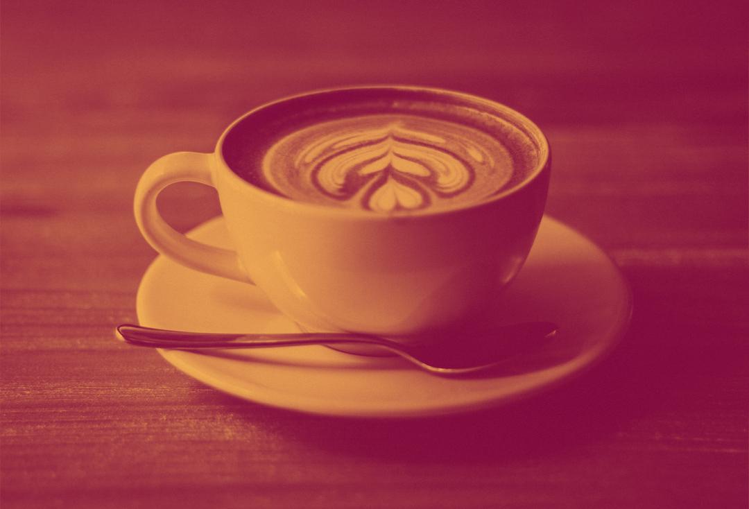 coffee duotone