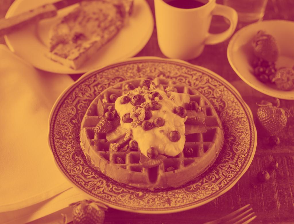 Waffle Duotone