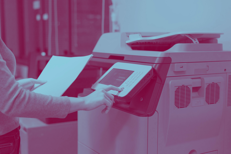 Printing duotone