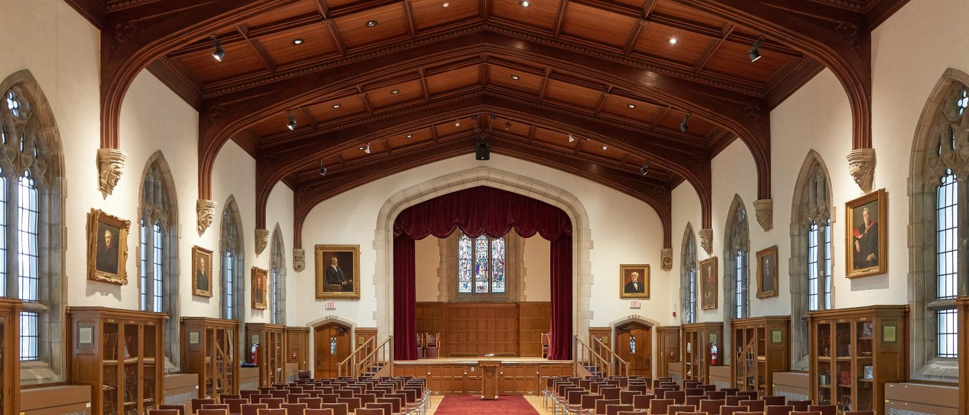 Convocation Hall, McMaster University, Hamilton, Ontario, Canada