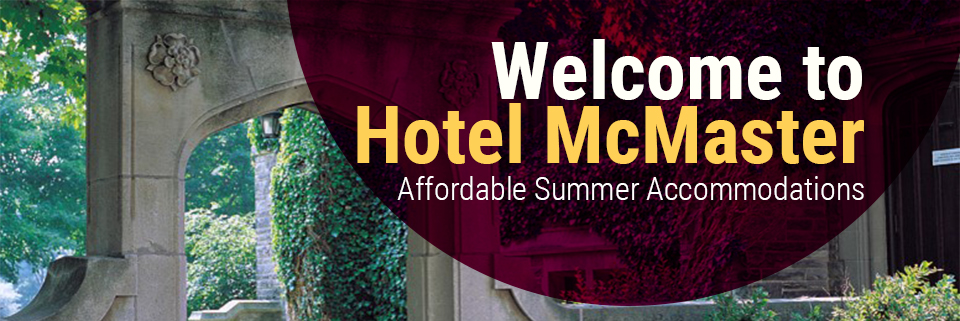 Welcome to Hotel McMaster